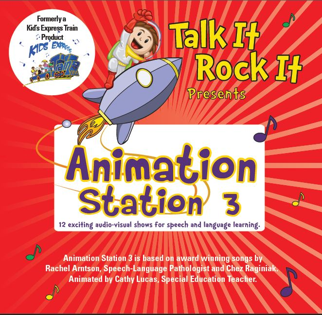 Animation Station 3 Cover