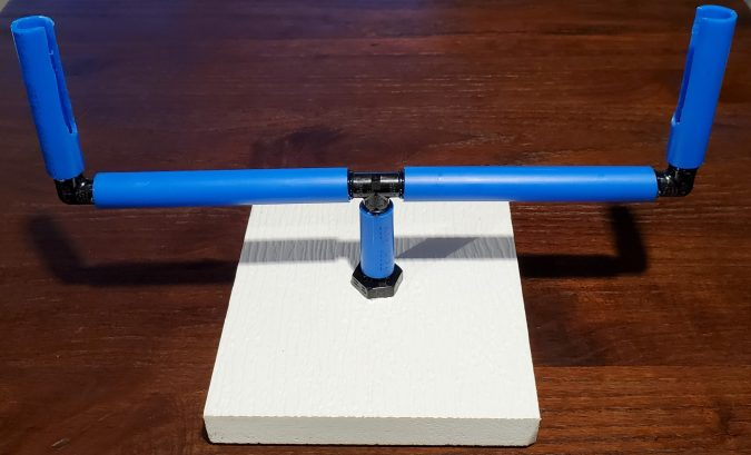 Rotating Stand for Blast off board
